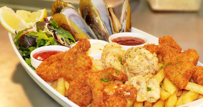 Thirsty Whale Seafood Platter